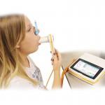 Spirometru Spirolab IV New cu Bluetooth si turbina reutilizabila